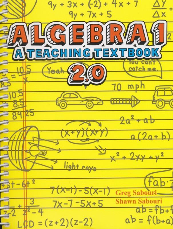 Teaching Textbooks Algebra 1 - complete set including CD-ROM