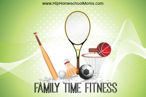 Getting Fit with Family Time Fitness!