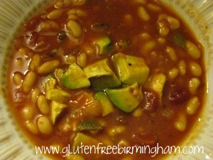 Recipe of the Month- Salsa Bean Soup