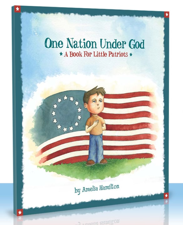 One Nation Under God – a book for little patriots Review and Giveaway! {Closed}