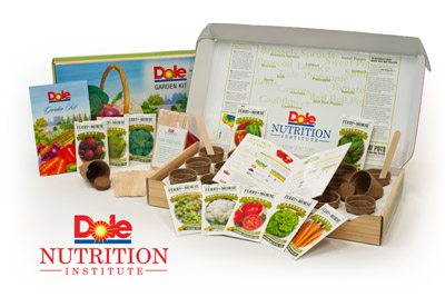 Dole Garden Kit Review Giveaway Closed Hip Homeschool Moms