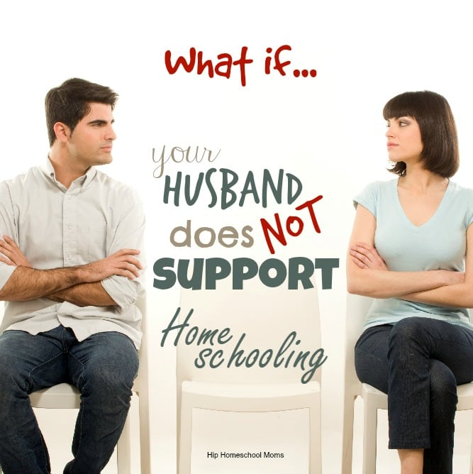 husband does not support decision