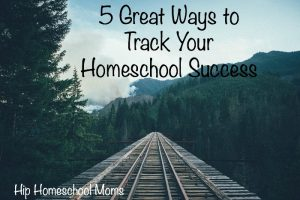 5 Great Ways to Track Your Homeschool Success