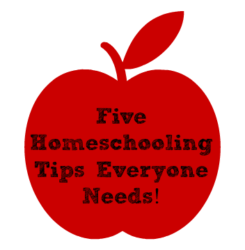 5 homeschooling tips everyone needs