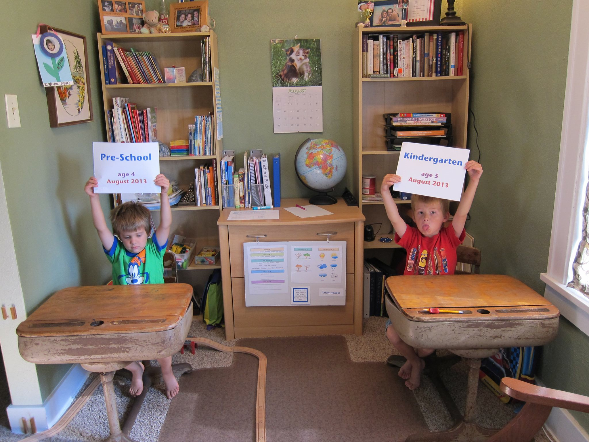 first day of school 2013 - Home School Furniture