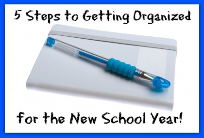 HHM Five Steps to Getting Organized