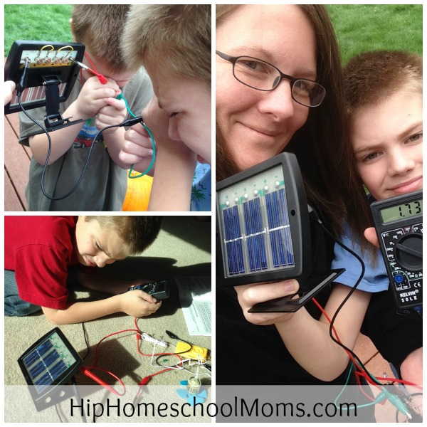 SolarLab Science Kit Review || HipHomeschoolMoms.com