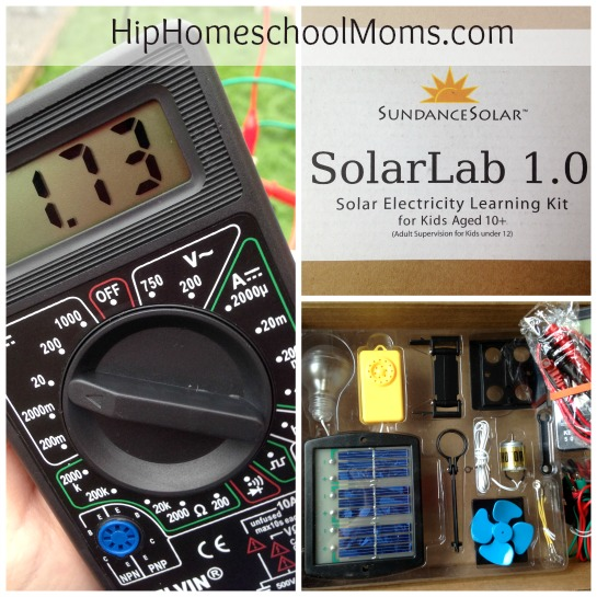 SolarLab 1.0 Science Kit Review & Giveaway! {closed}
