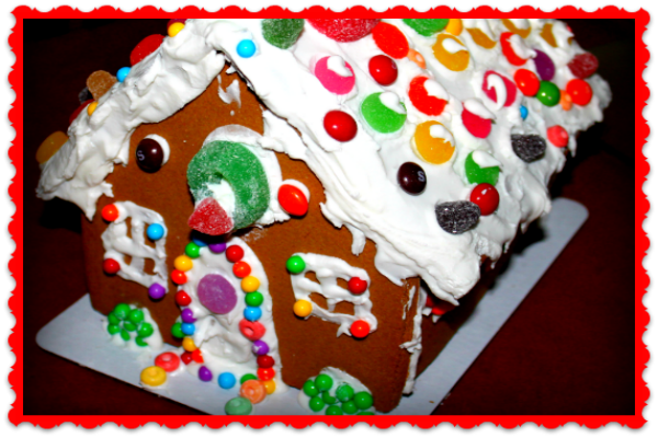 Gingerbread Houses ~ History & A Recipe