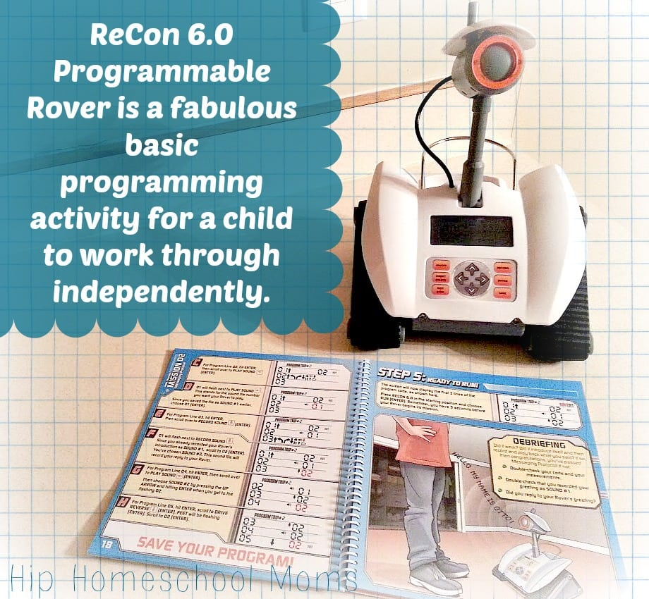 ReCon 6.0 Programmable Rover Review | Hip Homeschool Moms