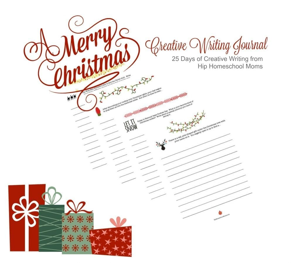 Christmas Creative Writing Journal