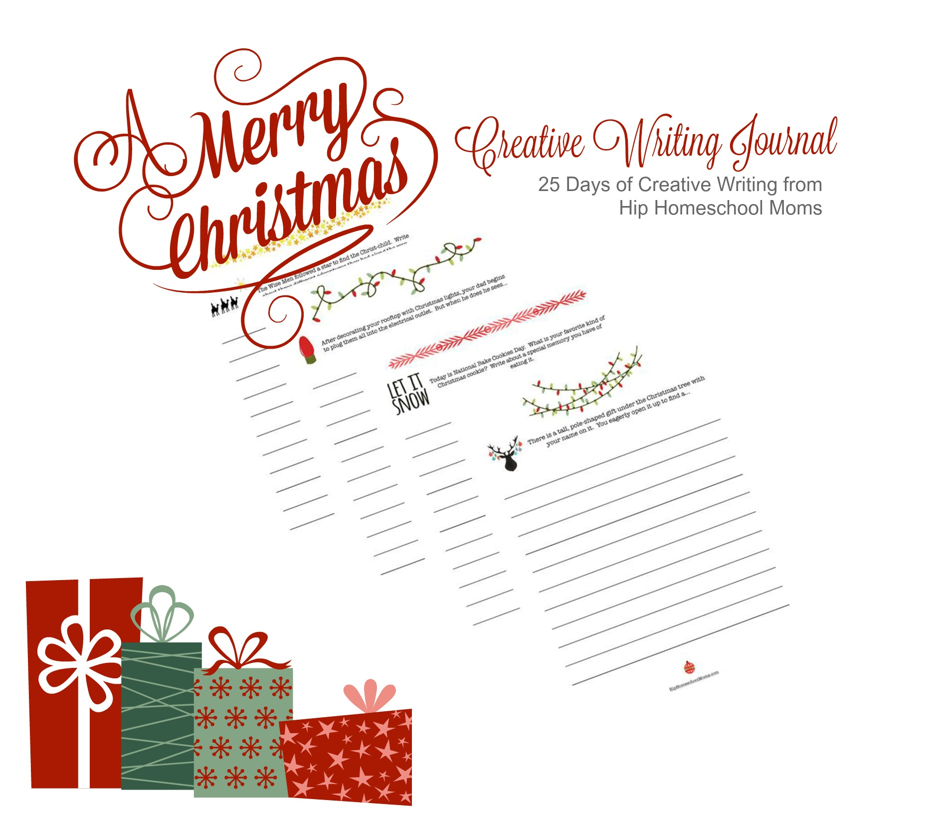 A Christmas Journal: 25 Days of Creative Writing for the Christmas Season
