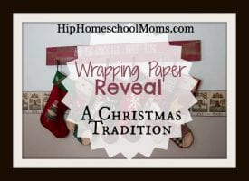A Wrapping Paper Reveal: A Christmas Tradition