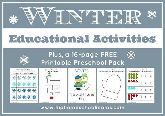 Winter Educational Activities