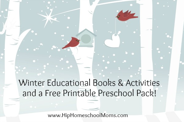 winter educational activities hip homeschool moms. Black Bedroom Furniture Sets. Home Design Ideas
