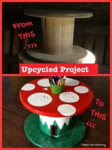 Upcycled Project Toad Stool