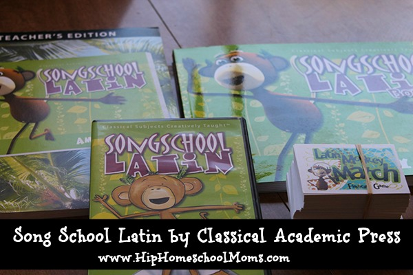Song School Latin Review by Classical Academia Press