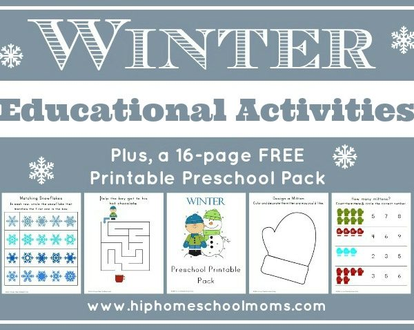 Winter Educational Activities