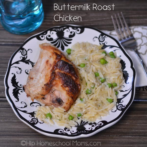 Buttermilk Roast Chicken gives you effortless, moist chicken with only ...