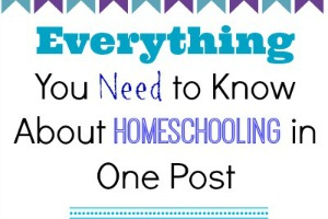 Everything You Need to Know About Homeschooling in One Post