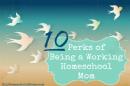 working homeschool mom