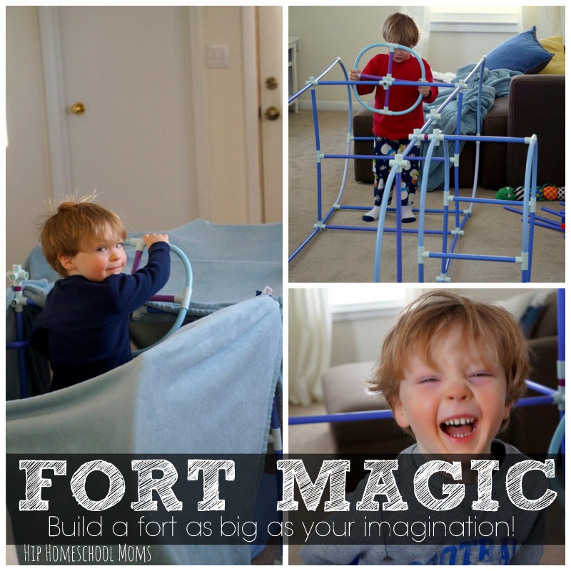 Fort Magic Review from Hip Homeschool Moms