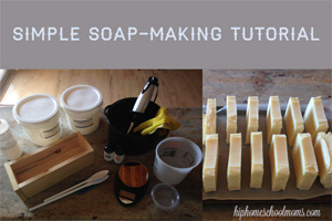 Simple Soap-Making Tutorial