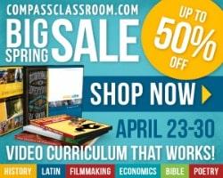 Compass Classroom Spring Sale!