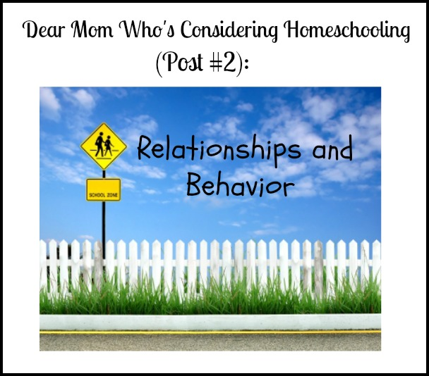 Considering Homeschooling Post 2 Pinnable Image
