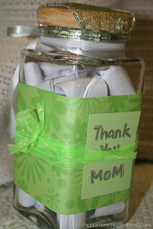 A Simple, Meaningful Mother's Day Gift - Hip Homeschool Moms