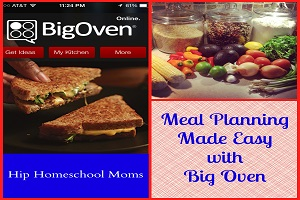 Meal Planning Made Easy with Big Oven!