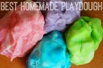 Best Homemade Playdough Recipe