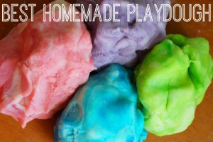Best Homemade Playdough Recipe