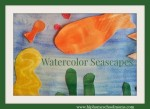 Watercolor Seascape Art Lesson