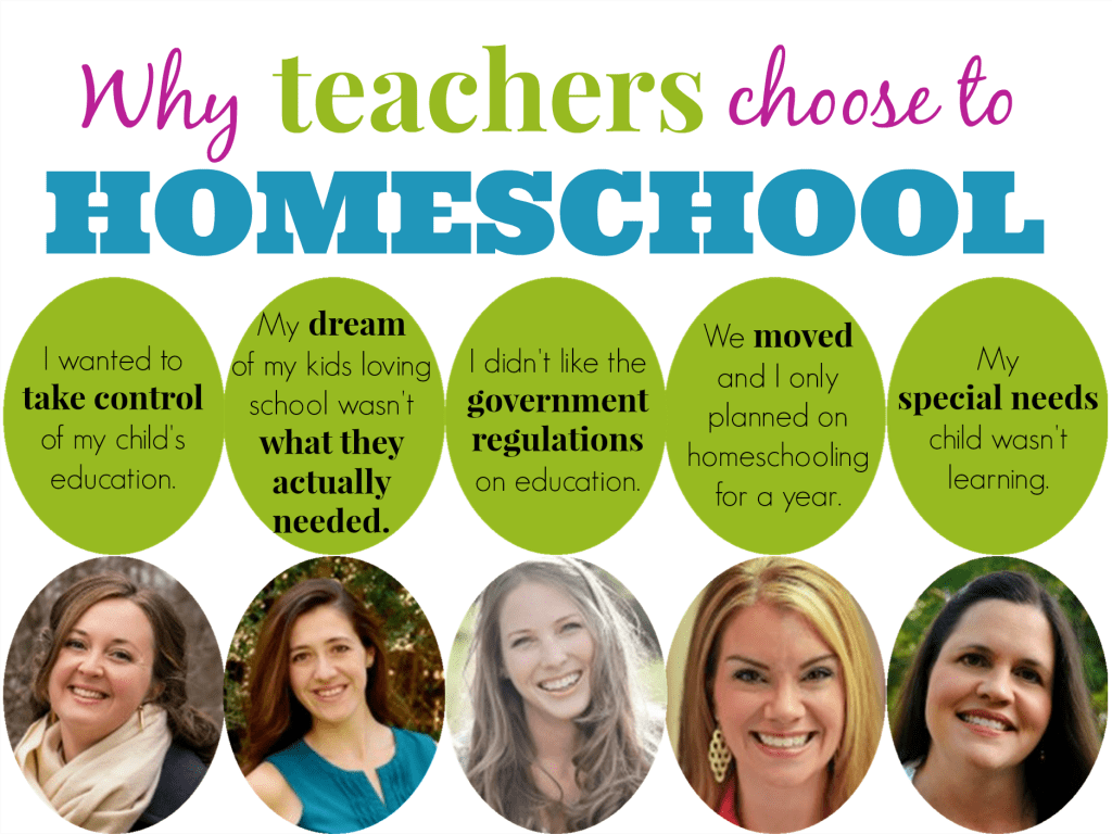 Why Teachers Homeschool button