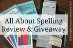All About Spelling Level 1 Review & Giveaway