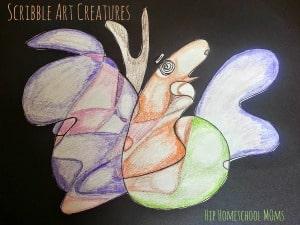 Scribble Art Creatures