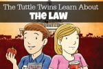 The Tuttle Twins Learn About the Law Review & Giveaway