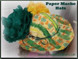 Paper Mache Hats