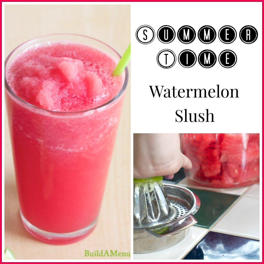 water melon summer slush easy orange cream slush the melon ball melon ...