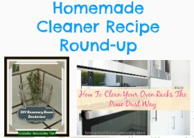Homemade Cleaner Recipe Round-up