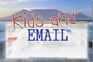 Kids and Email