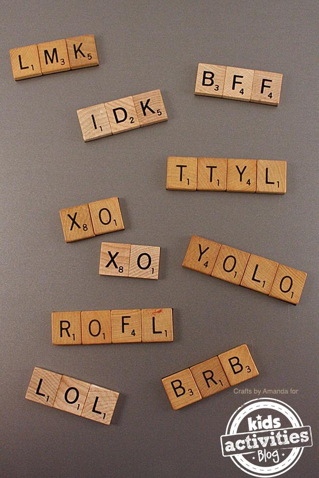 Scrabble-Tile-Craft-Acronym-Magnets