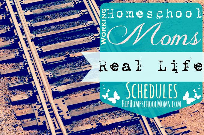 Working homeschool Moms schedules