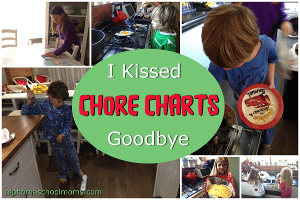I Kissed Chore Charts Goodbye