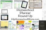 Homeschool Planner Round-Up