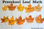 Preschool Leaf Math