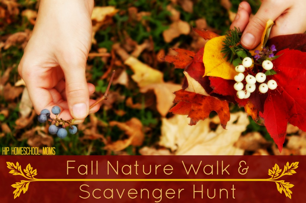 Fall Nature Walk and Scavenger Hunt