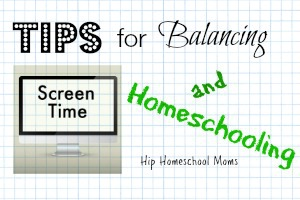 Balancing Screen Time and Homeschooling