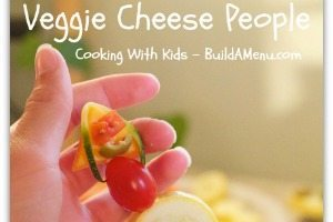Fun with Food: Veggie Cheese People